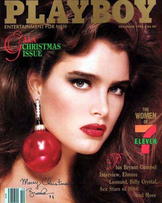 Brooke Shields Walks on Glass