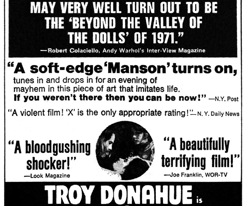 Troy Donahue Was Always Just Like He Is
